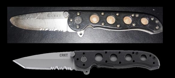 knife damage